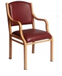 Metal Teak Chair Series VCM:1553